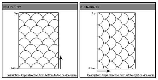Popular Shells Tiles Pattern
